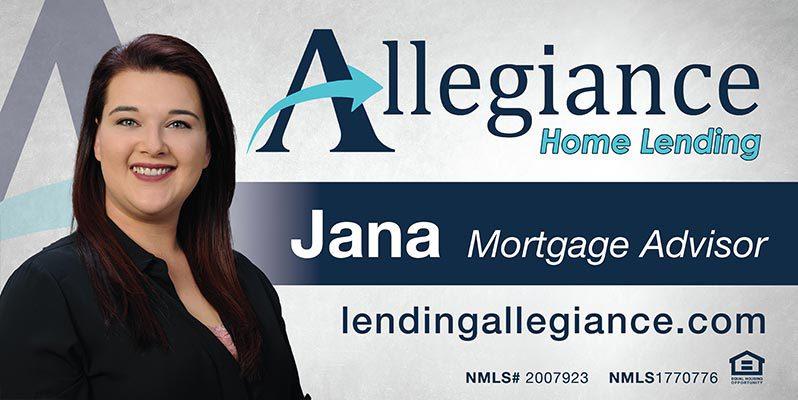 Jana - Allegiance - Sponsor