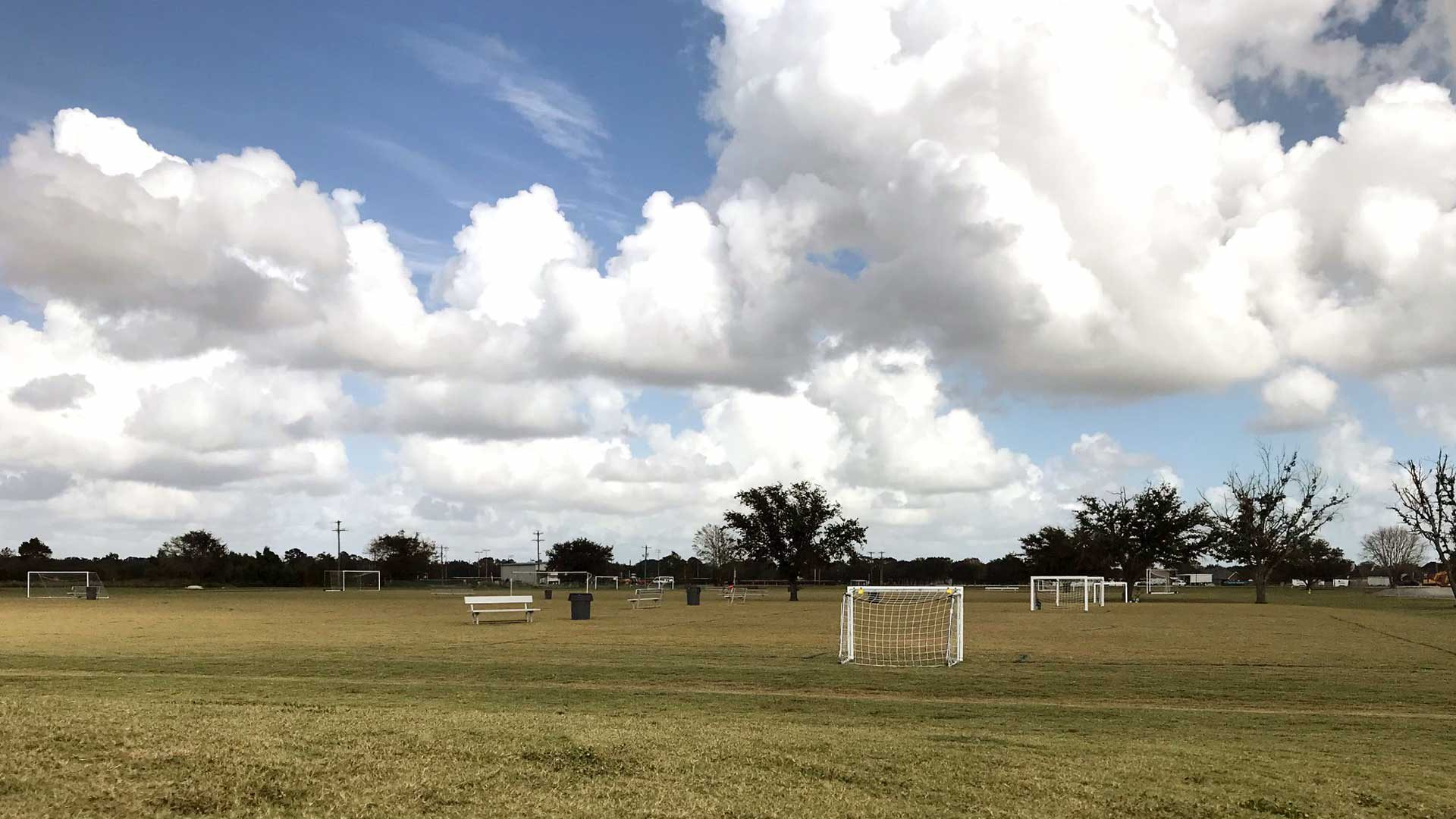 Photo of the fields at the BCSP
