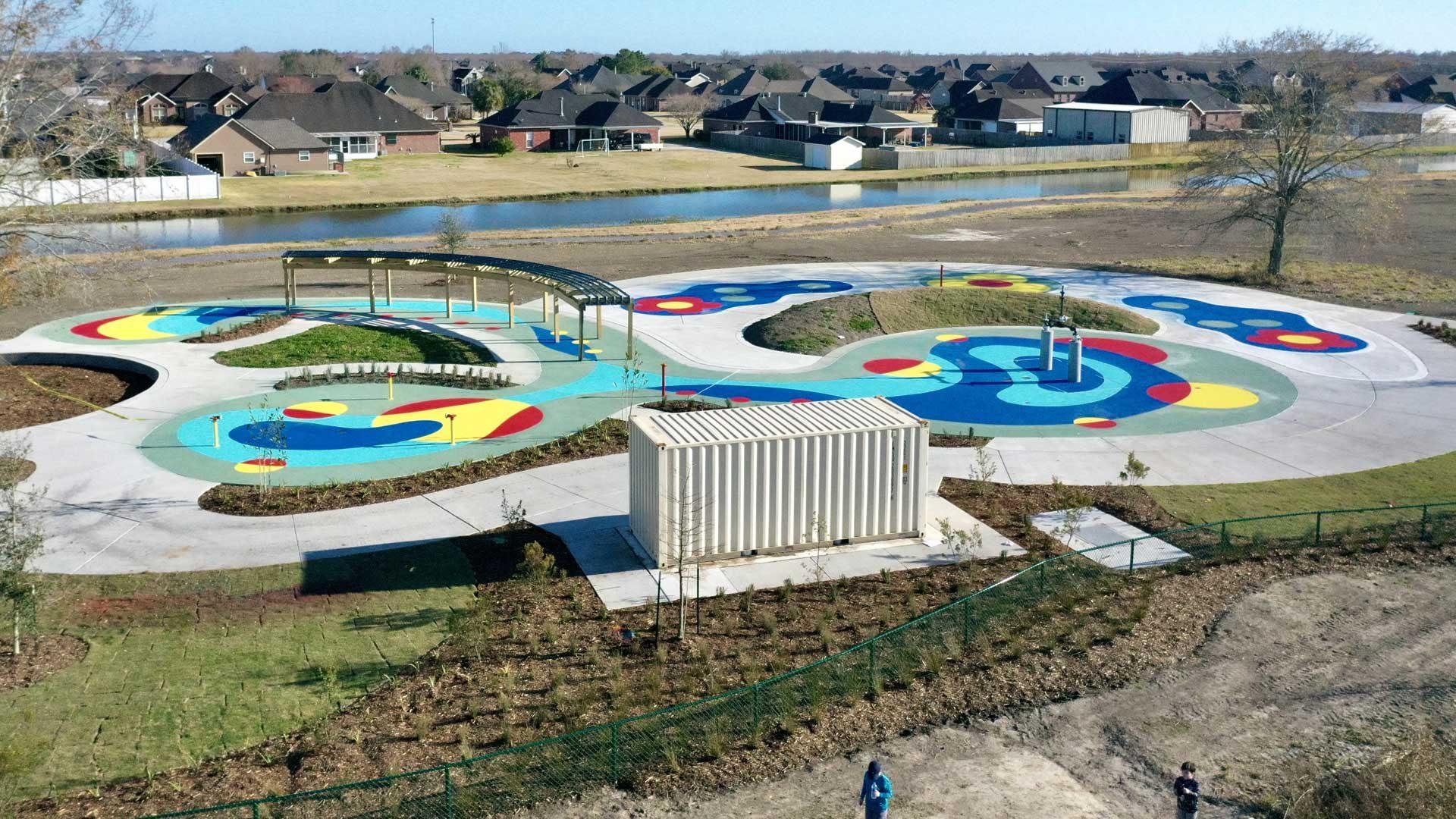 BCSP Splash Park Drone Photo