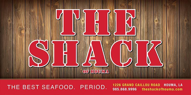 THE SHACK OF HOUMA LOGO