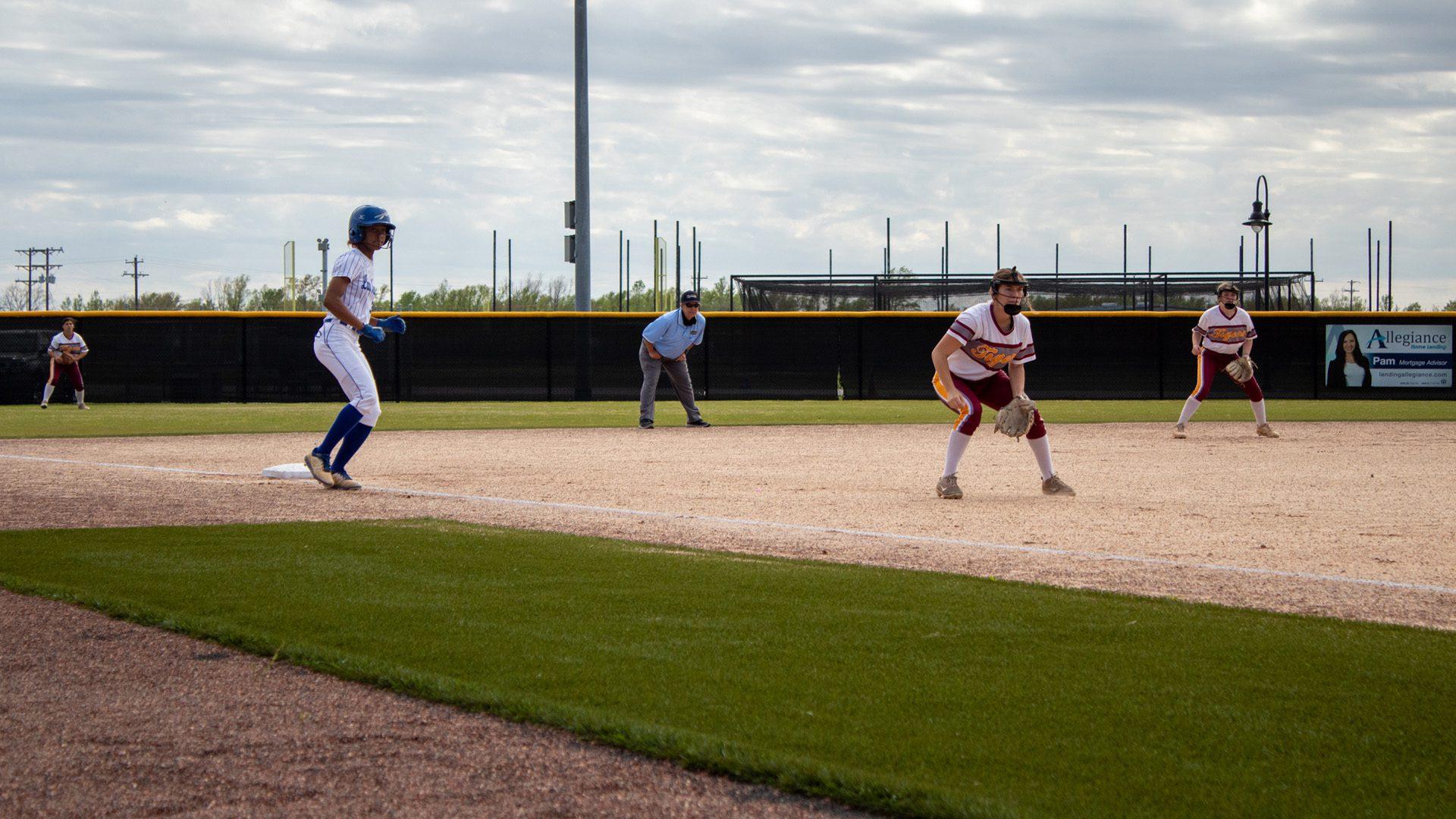 Runner on third base